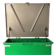 bruin storage container green charcoal shock lift