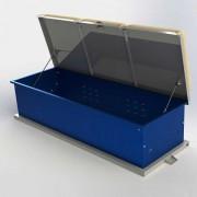 dockboxx storage container powder coated