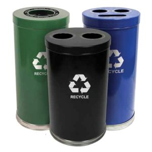 Emoti-Can Recycling Receptacles
