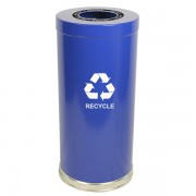 Emoti-Can Recycling Receptacles one opening