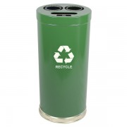 Emoti-Can Recycling Receptacles three opening