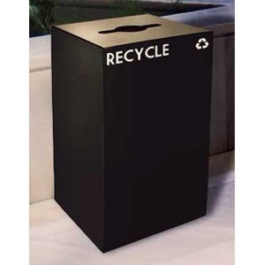 GeoCube Recycling Receptacle