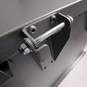 grizzly trash receptacle hinges