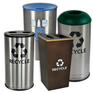 Indoor Recycling Receptacles