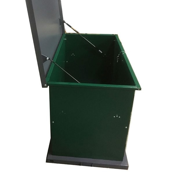 Kit Storage Container powder coated