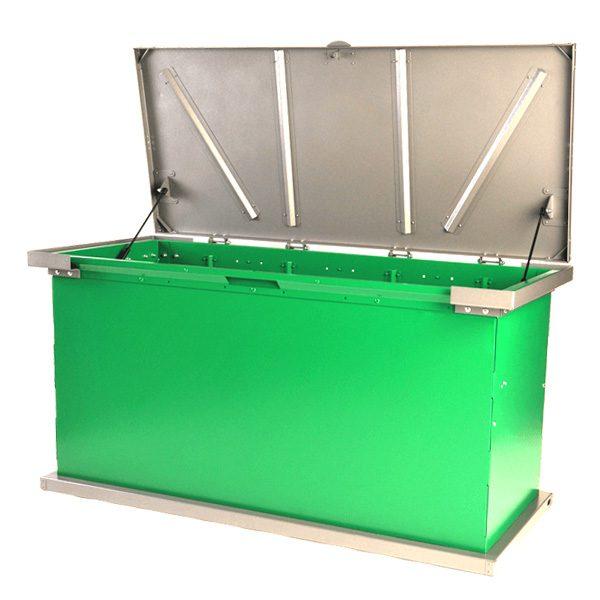 kodiak garbage container shock lift