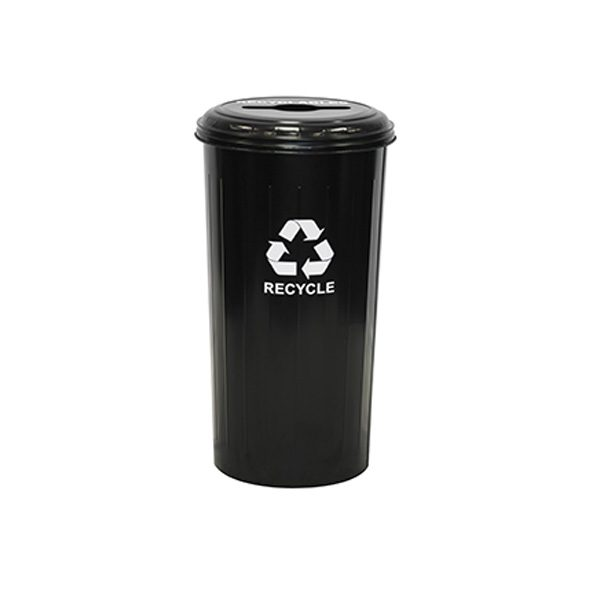 wastebasket recycling containers combo top