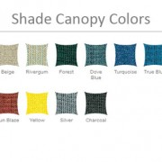Shade Structure Canopy Colors