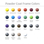 Shade Structure Powder Coat Colors