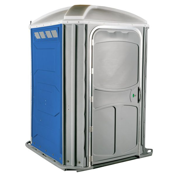 comfort xl portable toilet blue