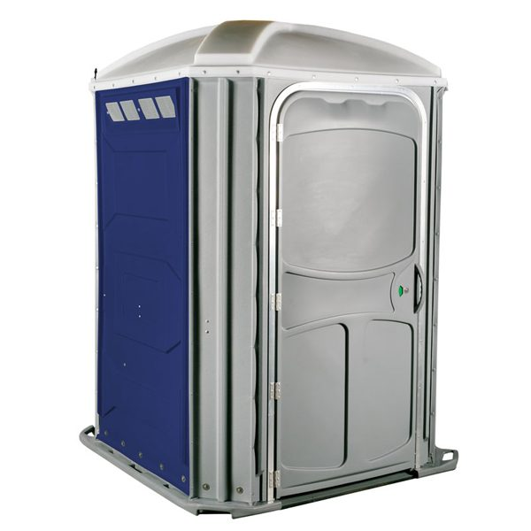 comfort xl portable toilet dark blue