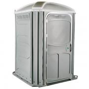 comfort xl portable toilet light gray