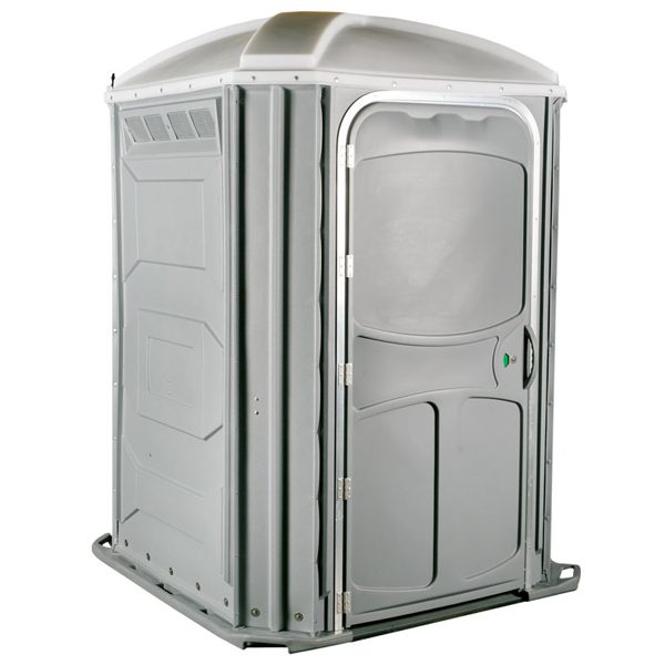comfort xl portable toilet light gray