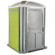 comfort xl portable toilet lime green