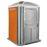 comfort xl portable toilet orange