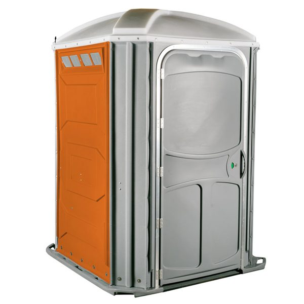 comfort xl portable toilet orange