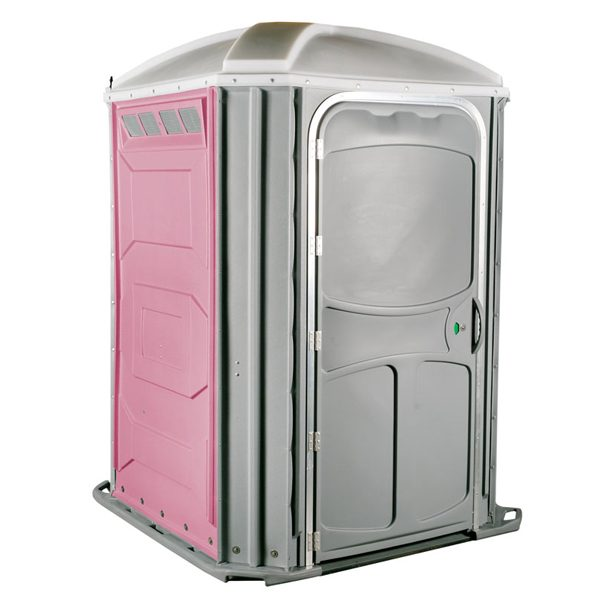 comfort xl portable toilet pink