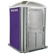 comfort xl portable toilet purple