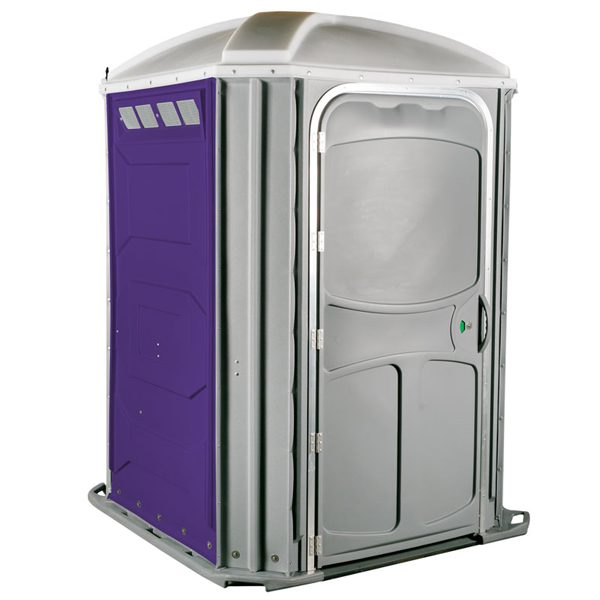 comfort xl portable toilet purple