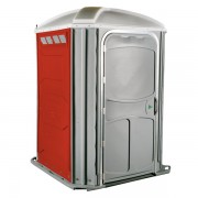comfort xl portable toilet red