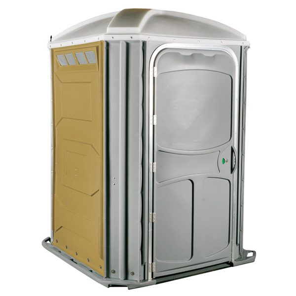 comfort xl portable toilet tan