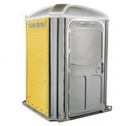 comfort xl portable toilet yellow