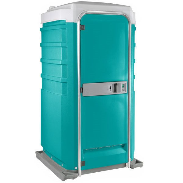 Fleet City Mains Portable Toilet aqua