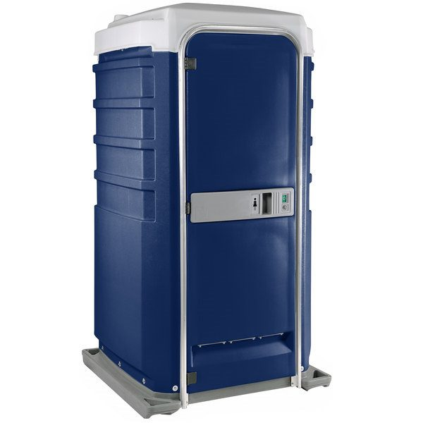 Fleet City Mains Portable Toilet dark blue