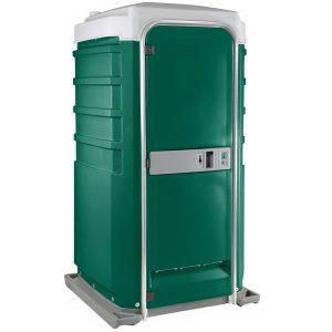 Fleet City Mains Portable Toilet green