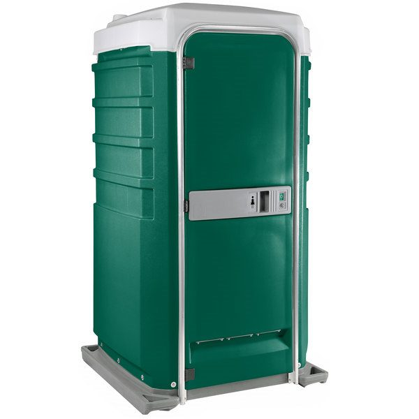 Fleet City Mains Portable Toilet green