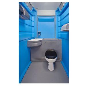 Fleet City Mains Portable Toilet interior wide