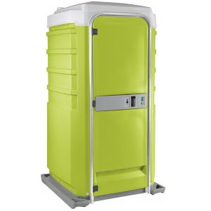 Fleet City Mains Portable Toilet lime