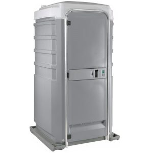 Fleet City Mains Portable Toilet pewter