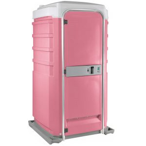 Fleet City Mains Portable Toilet pink