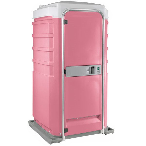 Fleet City Mains Portable Toilet pink