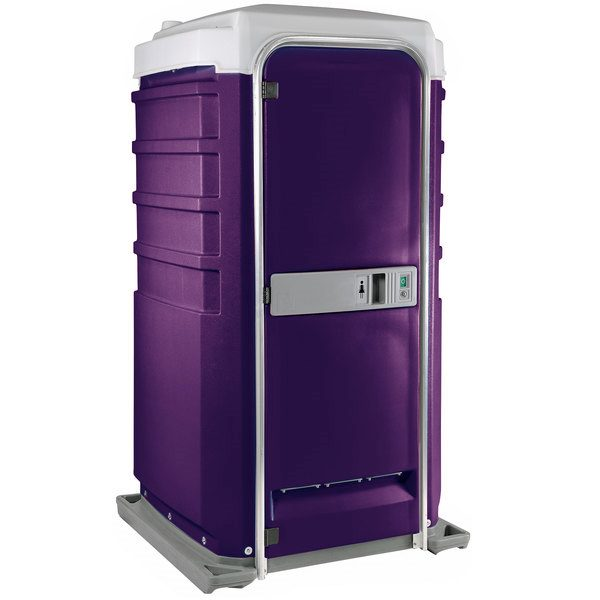 Fleet City Mains Portable Toilet purple