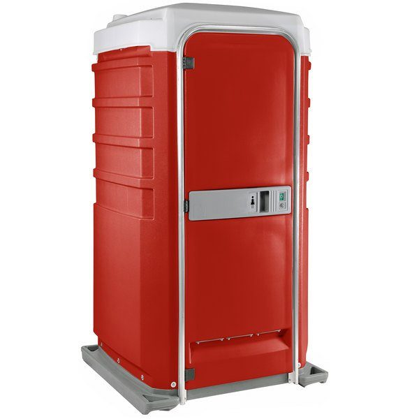 Fleet City Mains Portable Toilet red