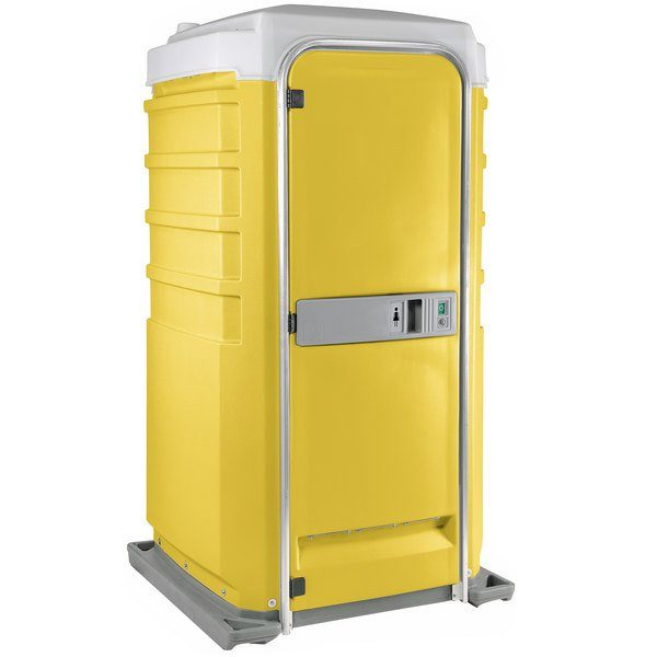 Fleet City Mains Portable Toilet yellow