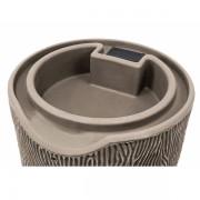 impressions bark 50 gallon rain barrel top