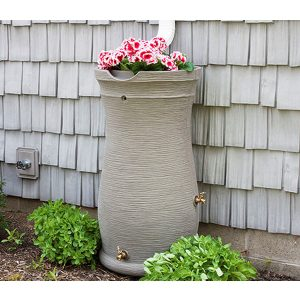 Impressions Capri 50 Gallon Rain Barrel
