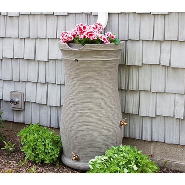 Impressions Capri 50 Gallon Rain Barrel