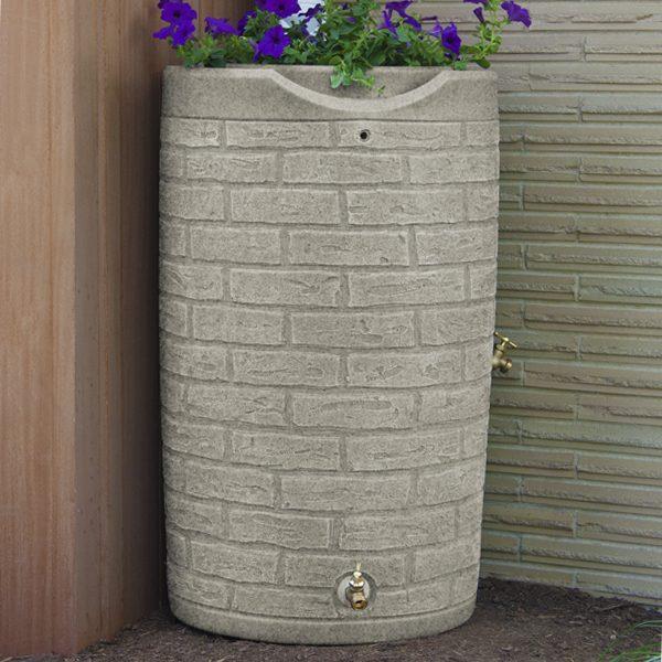 Impressions Downton 50 Gallon Rain Barrel