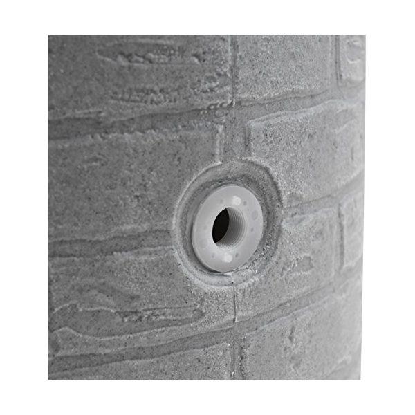 Impressions Downton 50 Gallon Rain Barrel texture