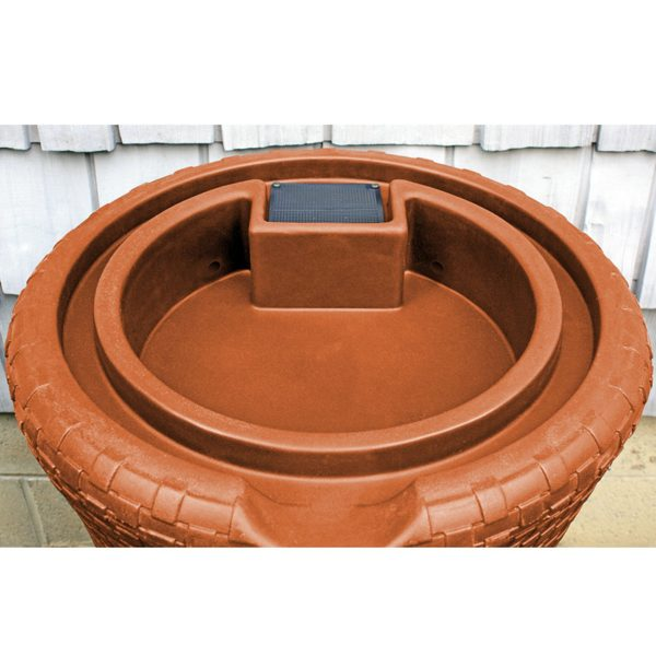 Impressions Nantucket 50 Gallon Rain Barrel top