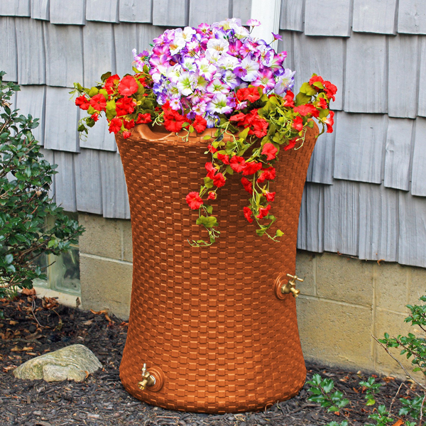 Impressions Nantucket 50 Gallon Rain Barrel