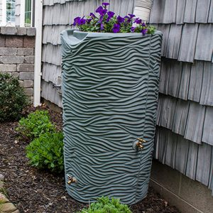 Impressions Palm 65 Gallon Rain Barrel