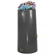 Impressions Reflections 50 Gallon Rain Barrel dark granite