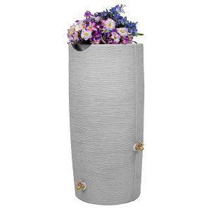 Impressions Stone 50 Gallon Rain Barrel