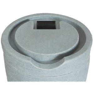 Impressions Stone 50 Gallon Rain Barrels top