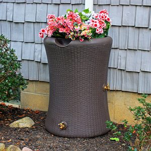 Impressions Willow 65 Gallon Rain Barrel